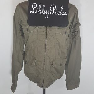 J.Crew military jacket in surplus green M/38